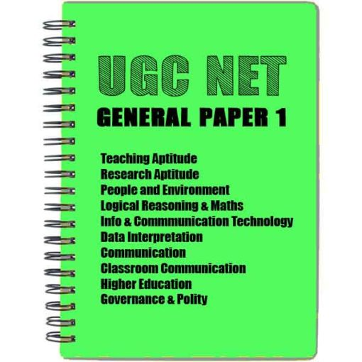 UGC NET Paper 1 Notes