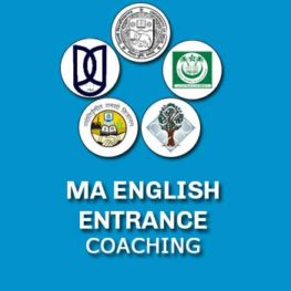 MA ENGLISH ENTRANCE COACHING