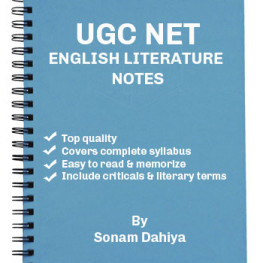 UGC NET English Lit Notes