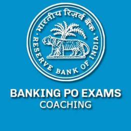 BANKING PO COACHING IN DELHI