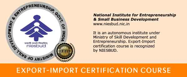 Export Import Certification Course