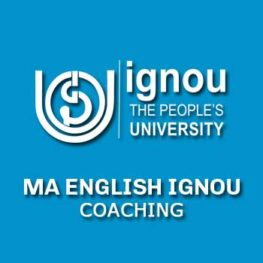 MA ENGLISH IGNOU COACHING 2017