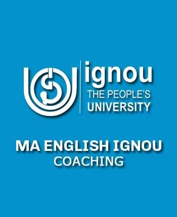 IGNOU M.A. English