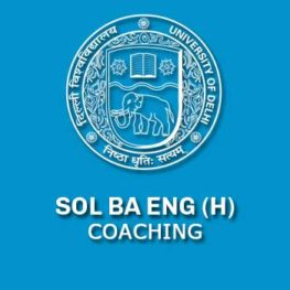 BA ENGLISH HONORS COACHING 2017