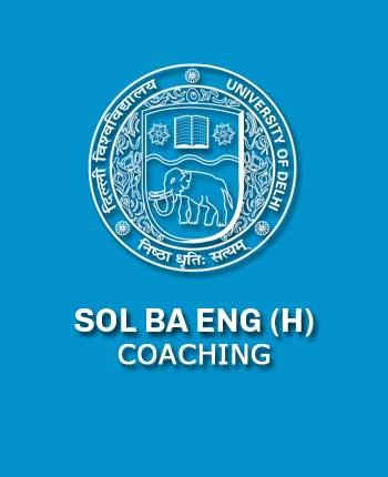 DU SOL B.A. English Hons.