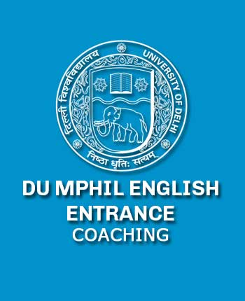 DU MPhil English Entrance
