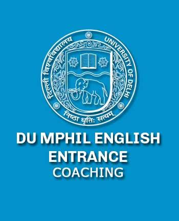 DU MPhil English Entrance