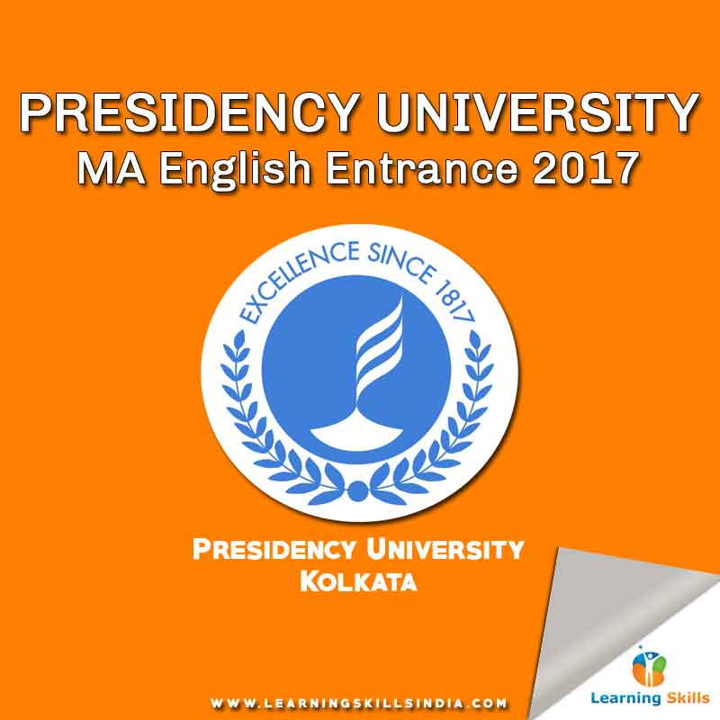 Presidency University MA English Admission 2017 – Last Date 7th March 2017