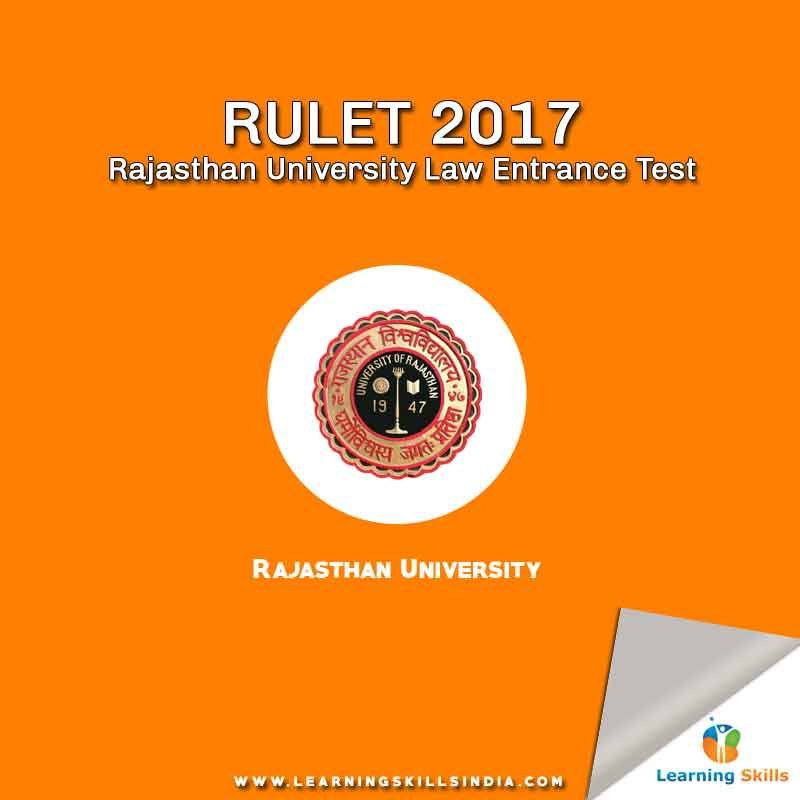 RULET 2017 Notification – Important Dates, Eligibility, Syllabus and More