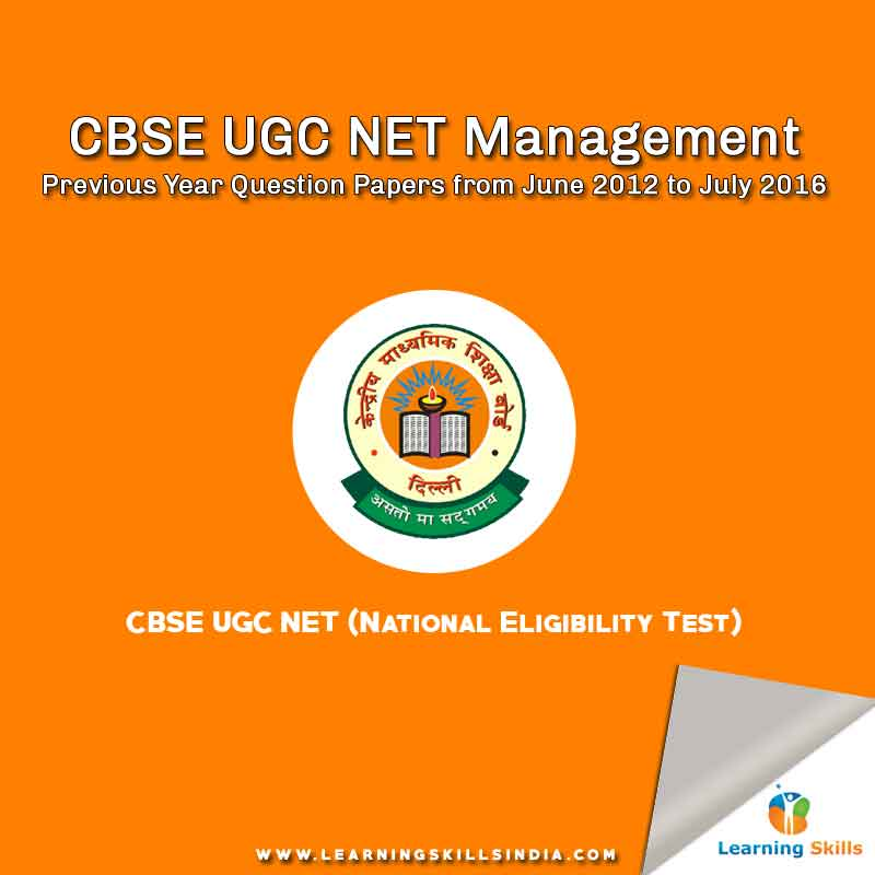 UGC NET Management Previous Year Question Papers with Answer Keys