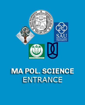 MA Political Science Entrance