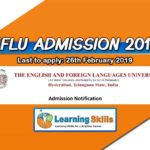 EFLU Entrance Exam 2019 Notification – Eligibility, Important Dates, Syllabus & More