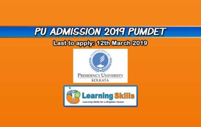 Presidency University PG Admission 2019 – MA English Entrance, Pattern & More
