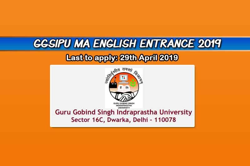 IP University MA English Entrance Exam 2019 – Dates, Eligibility, & More