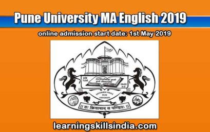 Pune University MA English Admission 2019 – Important Dates and Details