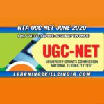 NTA UGC NET 2020 – Registration Date Extended to 16 May 2020