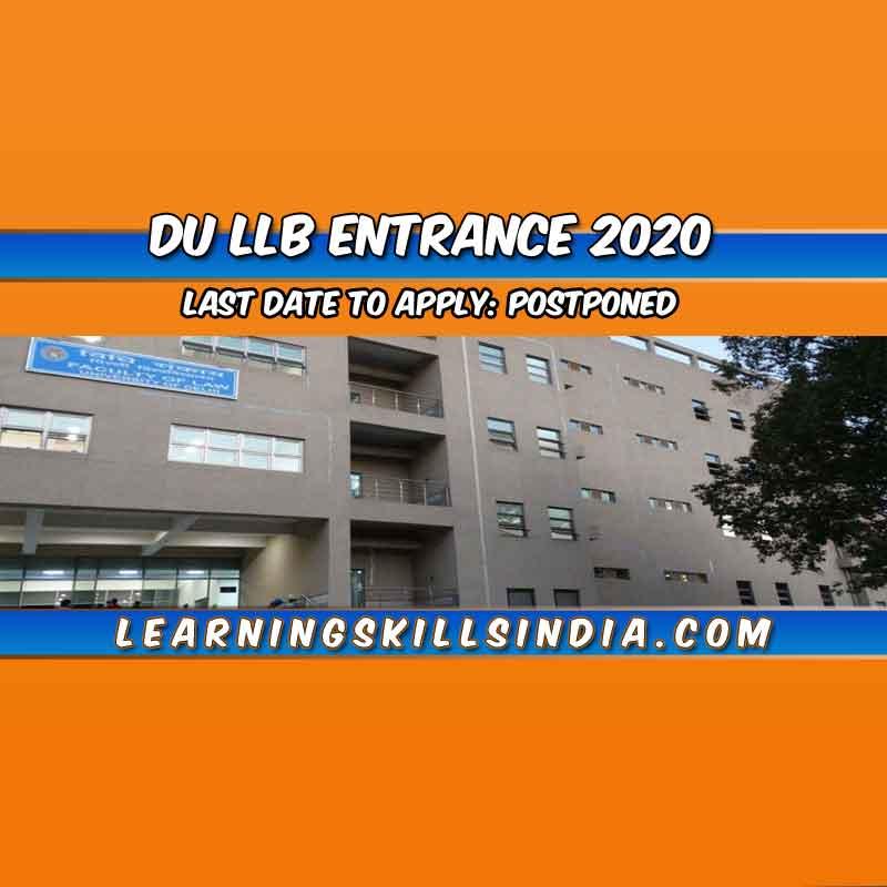 DU LLB 2020: Eligibility, Entrance Details & Syllabus, Application & More