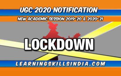 UGC Academic Calendar 2020 – Semester Exam & Admission Dates