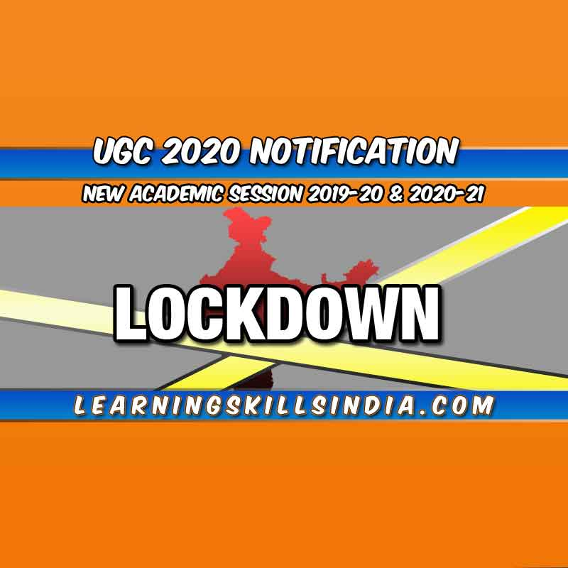 UGC Academic Calendar 2020 – Semester Exam & Admission Dates