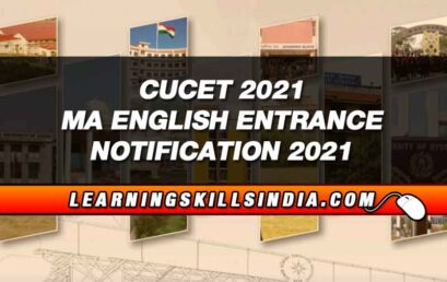 CUCET 2021 MA English Entrance – Dates, Eligibility, Entrance & More